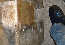 Fiberglass and Foot