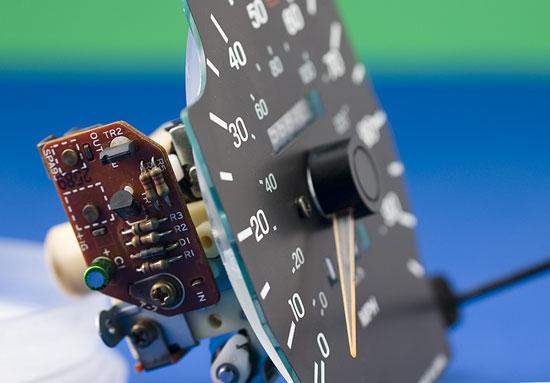 Speedometer side