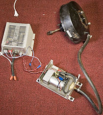 Vacuum Test Setup