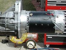 Orlen's Motor setup
