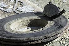 VW Golf old disc brakes