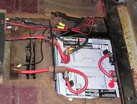 Bob and Jim's EV - back batteries