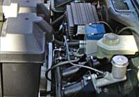 Alvan's Spitfire EV under hood