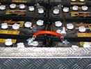 Rear battery pack
